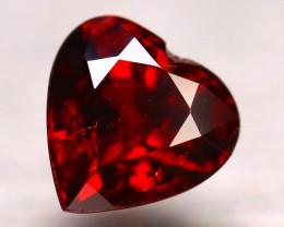 Almandine 2.42Ct Natural Vivid Blood Red Almandine Garnet E0703/B3