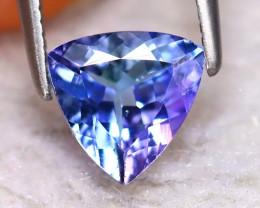 Tanzanite 1.01Ct Natural VVS Purplish Blue Tanzanite EA0715/D3