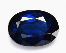 1.14 Cts Amazing Rare Natural Fancy Blue Ceylon Sapphire Loose Gemstone