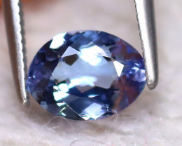 Tanzanite 1.06Ct Natural VVS Purplish Blue Tanzanite EF0718/D3