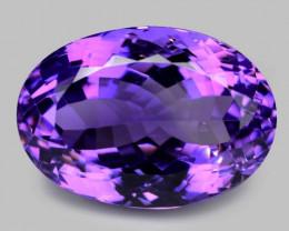 18.64  Cts Amazing Rare Natural Purple Amethyst Loose Gemstone