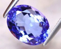 Tanzanite 2.38Ct Natural VVS Purplish Blue Tanzanite ER271/D4