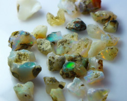 64.80 CT Natural - Unheated White Opal Rough Lot