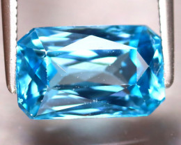 Blue Zircon 5.47Ct Natural Cambodian Blue Zircon ER223/A31