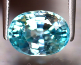Blue Zircon 4.68Ct Natural Cambodian Blue Zircon ER224/A31