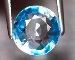Blue Zircon 4.00Ct Natural Cambodian Blue Zircon ER226/A31
