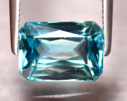 Blue Zircon 3.22Ct Natural Cambodian Blue Zircon ER227/A31