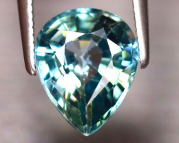 Blue Zircon 3.60Ct Natural Cambodian Blue Zircon ER228/A31