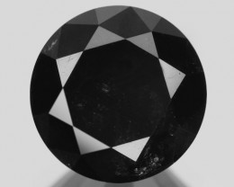 2.52 Cts Amazing Rare Fancy Black Color Natural Loose Diamond