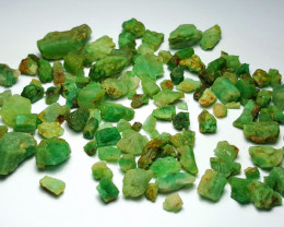 Beautiful Natural color Rough Emerald lot 250 Cts-Afghan#2