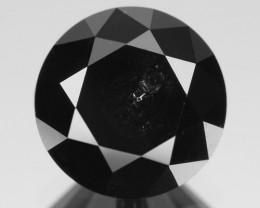 *No Reserve* Diamond 2.51 Cts Amazing Rare Fancy Black Color Natural Loose