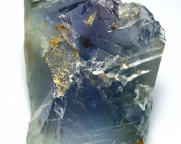 Amazing Natural color faceted grade rough Fluorite  245Cts-Pak