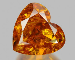 0.33 Cts Untreated Fancy Yellow Orange Color Natural Loose Diamond