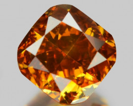 0.43 Cts Untreated Fancy Yellow Orange Color Natural Loose Diamond