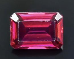 1.31 Crt  Rhodolite Garnet Faceted Gemstone (Rk-89)