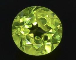 0.88 Crt  Peridot Faceted Gemstone (Rk-89)