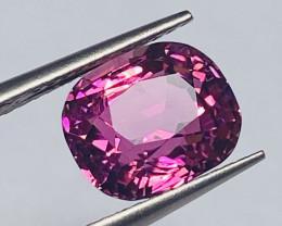 3.34 ct Hot Pink with fine cutting  Tourmaline Gemstone