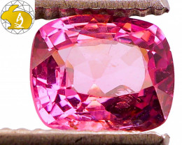 Cert. Unheated 1.50  CT Purple Mahenge Spinel FREE Shipping!