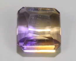 2.30 CTS AWESOME NATURAL OCTAGON YELLOW~VIOLET AMEITRINE GEM!!