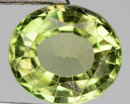2.57 Cts Un Heated Natural Green Apatite Loose Gemstone