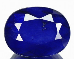 2.76 Cts Rare Natural Royal Blue Sapphire Loose Gemstone