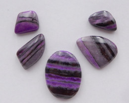 26cts Unique Sugilite,Handmade Gemstone ,Sugilite Bead ,Lucky Stone H268