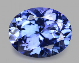 2.89 Cts Amazing rare Violet Blue Color Natural Tanzanite Gemstone