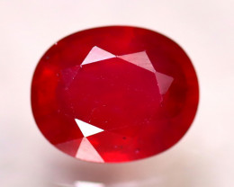 Ruby 4.02Ct Madagascar Blood Red Ruby D0809/A20