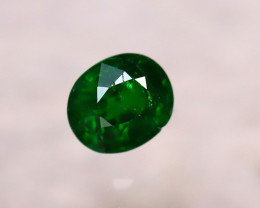 Tsavorite 0.75Ct Natural Intense Vivid Green Color Tsavorite Garnet D0815