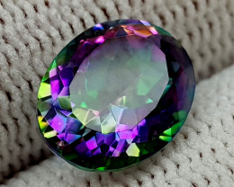 2.25CT MYSTIC QUARTZ BEST QUALITY GEMSTONE IIGC017