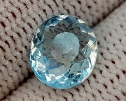1.15CT NATURAL AQUAMARINE BEST QUALITY GEMSTONE IIGC017