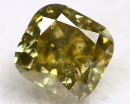 Fancy Diamond 0.18Ct Natural Untreated Fancy Color Diamond BP38
