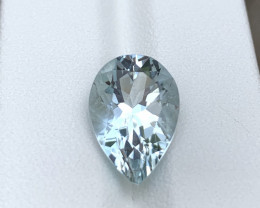 GFCO Certified 5.31 Cts Natural Aquamarine Gemstone