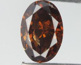 DGLA certified ,0.94 CTS , Extremely Rare Reddish Diamond , rare Color Diam