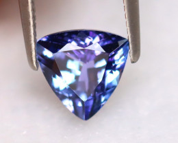 Tanzanite 1.31Ct Natural VVS Purplish Blue Tanzanite DR355/D8