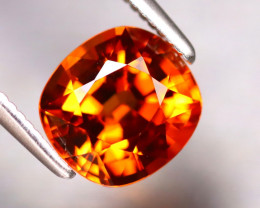 Spessartite Garnet 2.05Ct Natural Vivid Orange Spessartite Garnet DR370/B34