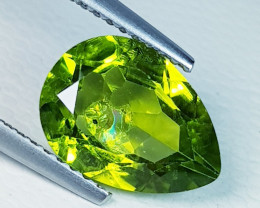 2.92 ct Top Quality Gem  Pear Cut Top Luster Natural Peridot