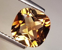 2.72 ct Top Quality Stunning Cushion Cut Natural Champion Topaz