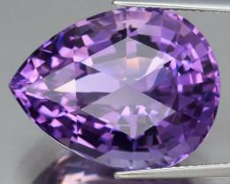 22.59  ct 100% Natural Earth Mined Unheated Purple Amethyst, Uruguay