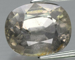 CERTIFICATE Incl.*Big! 4.30ct Natural Unheated Pinkish Yellow Sapphire