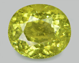 1.24 Cts Un Heated Green Color Natural Tourmaline Loose Gemstone