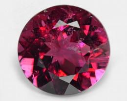 0.79 Cts Un Heated Purple Pink Color Natural Tourmaline Loose Gemstone