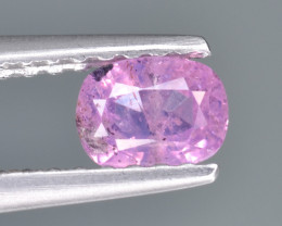 Natural Pink Sapphire 0.48 Cts from Afghanistan