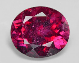 1.02 Cts Un Heated Purple Pink Color Natural Tourmaline Loose Gemstone