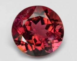 0.87 Cts Un Heated Purple Pink Color Natural Tourmaline Loose Gemstone