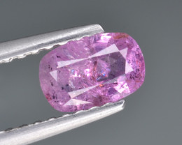 Natural Pink Sapphire 0.63 Cts from Afghanistan
