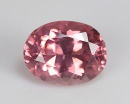 Burmese pink spinel, eye clean, rare, excellent cut. SN169