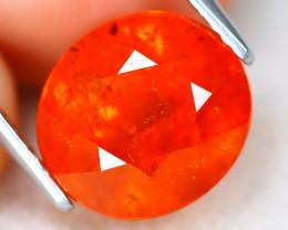 Mandarin Spessartite 7.33Ct Oval Cut Natural Spessartite Garnet A0710