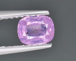 Natural Pink Sapphire 0.76 Cts from Afghanistan