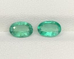 1.24 Carats Natural Aquamarine Gemstones